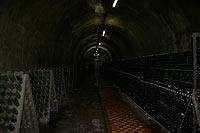 Подземные тоннели завода Абрау-Дюрсо