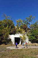 Выход за территорию завода из тоннеля Саук-Дере