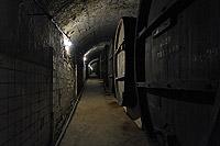 Тоннели с винными бочками для производства марочных вин Саук-Дере