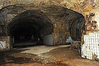В подземных тоннелях агрофирмы Саукдере